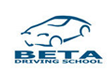 Beta Driving School logo